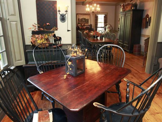 Captivating Waukesha Saltbox Home Is True To Colonial Era. Primitive Dining RoomsPrimitive  FurniturePrimitive ...