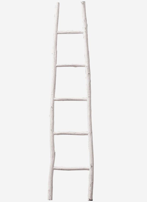 Decorative Painted Wood Ladder Wood Ladder Antique Decor Diy Painting On Wood