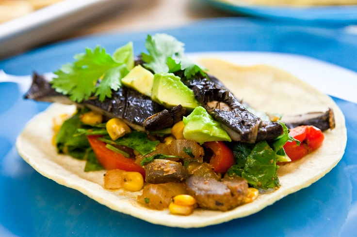 Roasted Portobello Soft Tacos