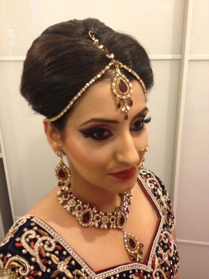 Wedding Hair and makeup by Arpita Karania Training courses available Call 07957211218