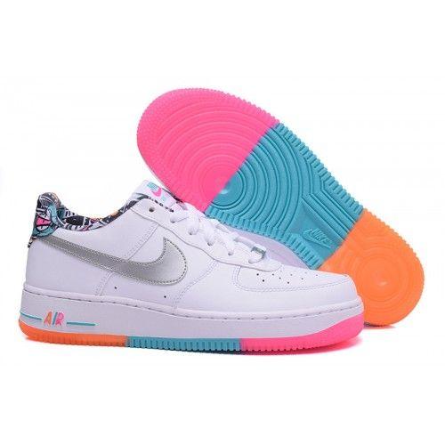 Bast Nike Air Force 1 Ultra Flyknit Herr Dam Low Svart Gra Skor
