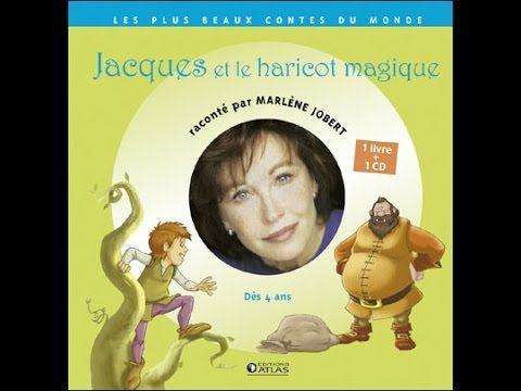 Marlène Jobert Raconte - Jacques et le Haricot Magique - YouTube