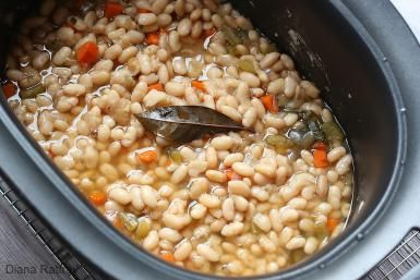 Homemade Great Northern Beans From Your Slow Cooker: Crock Pot Great Northern Beans