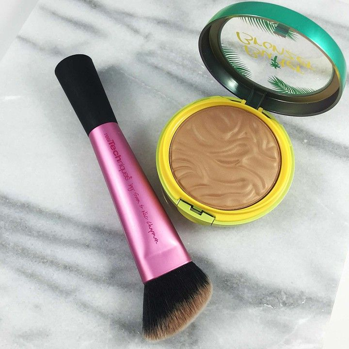 BUTTER BRONZER AND REAL TECHNIQUES CONTOUR BRUSH
