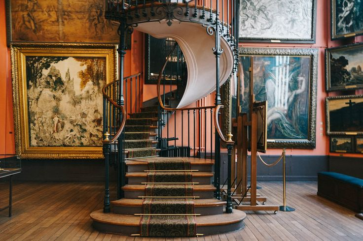 The Alternative Guide to Paris — Bon Traveler / The Gustave Moreaux museum in this photo is wonderful!