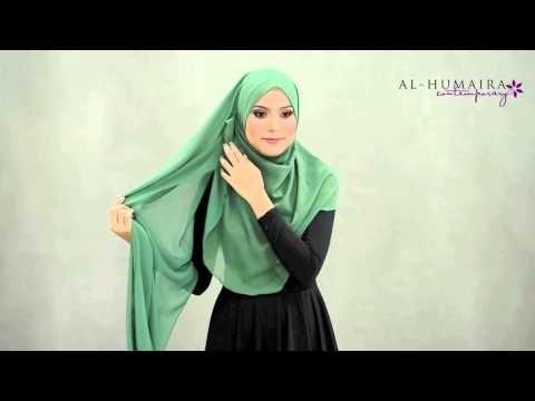 ▶ BETSY shawl styling tutorial by Al-Humaira Contemporary - YouTube
