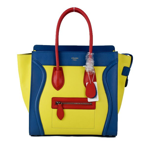 Celine, Yellow Blue Red | Primary Colors | Pinterest | Celine ...