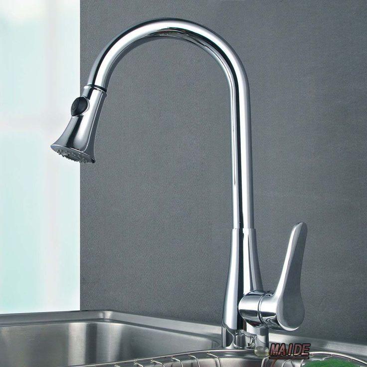 80 best Keukenkranen images on Pinterest Kitchen faucets, Kitchens - armatur küche ausziehbar