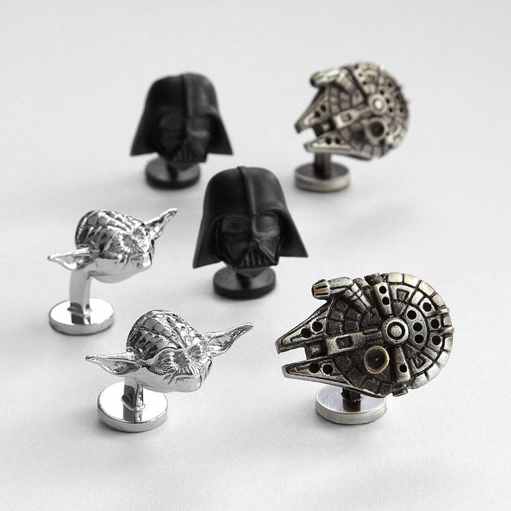Star Wars™ cuff links from RedEnvelope.com