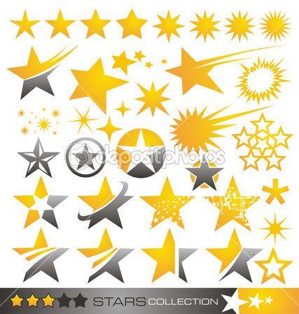 Звезда коллекции Иконка и логотип — Векторное изображение © lukeruk #11699781