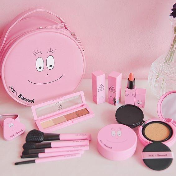 3CE X BARBAPAPA collaborations line up! #3ce #barbapapa #newrelease #pink #cosmetic #bbcosmetic_official