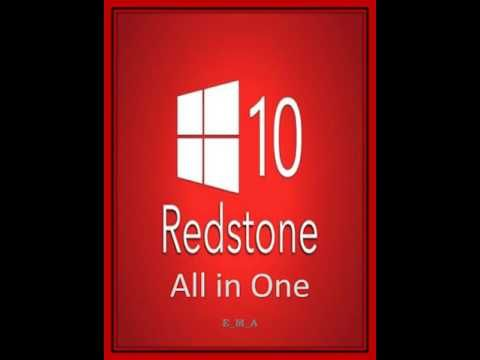 Download Windows 10 Redstone 2 All in One For FRee