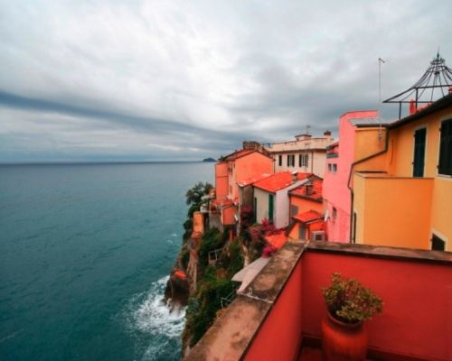 Tellaro, a room with a view