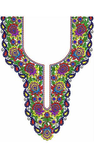 Hyderabad Clothing | Designer Kameez Embroidery Design