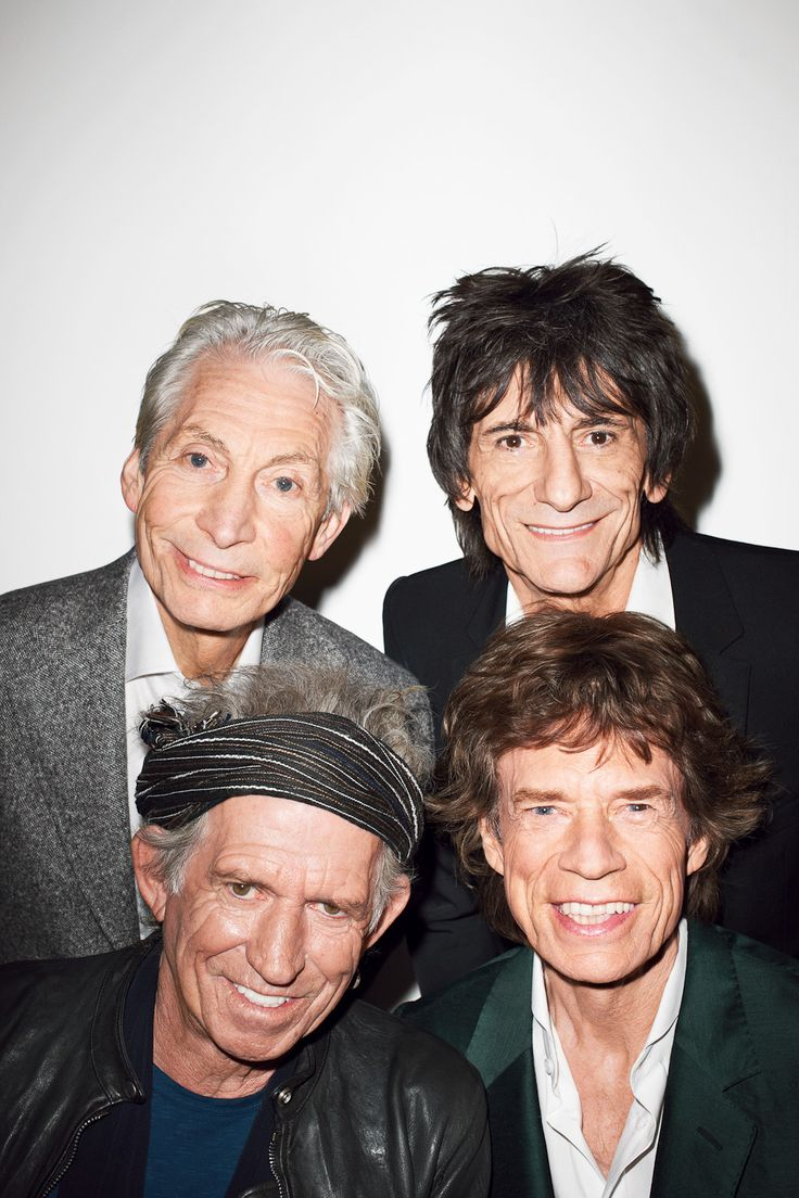 The Rolling Stones @ Terry Richardson's This is how they look. Photo taken may 17 2013 #TheRollingStones #RollingStones
