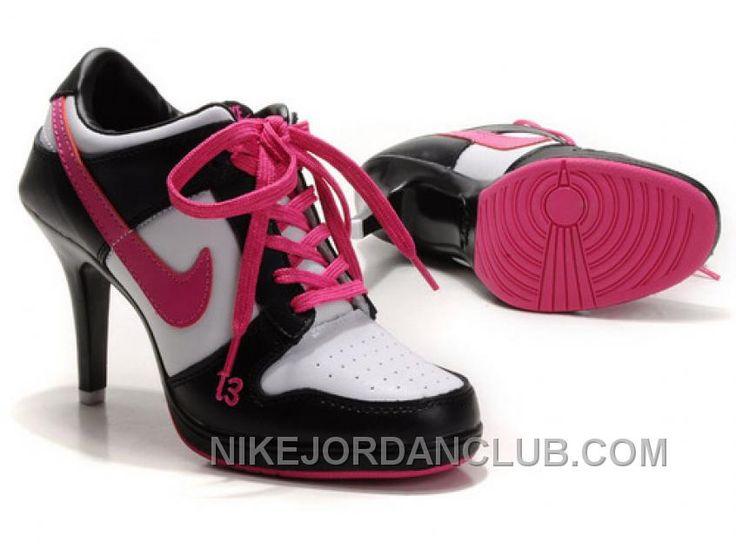 http://www.nikejordanclub.com/womens-nike-dunk-high-heels-low-shoes-black-white-pink-cheap-to-buy.html WOMEN'S NIKE DUNK HIGH HEELS LOW SHOES BLACK/WHITE/PINK CHEAP TO BUY Only $74.22 , Free Shipping!