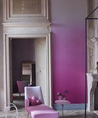 18 best images about wallpaper on pinterest purple - Purple ombre wall ...
