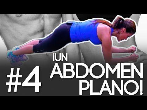 Logra un Abdomen Plano y Quema la Grasa Corporal con la Rutina #4 del Reto Quemando Y Gozando - YouTube