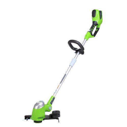 GreenWorks 21332 GMAX 40V 13Inch Cordless String trimmer  Battery and Charger Not Included *** Click on the image for additional details. Note: It's an affiliate link to Amazon
