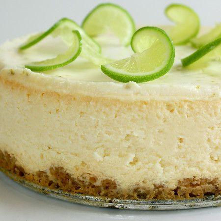 Margarita Lime Cheesecake.