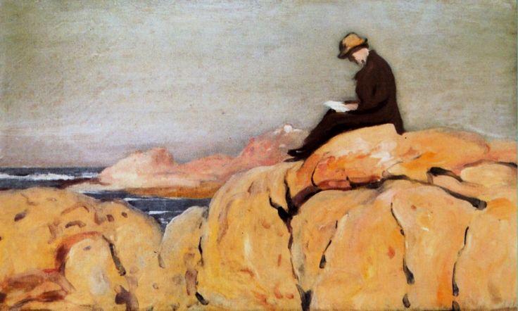 António Carneiro - Claudio nos rochedos 1912