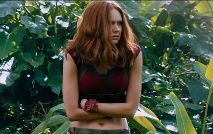 Jumanji 2 Director Defends Karen Gillan's Outfit Amid ...