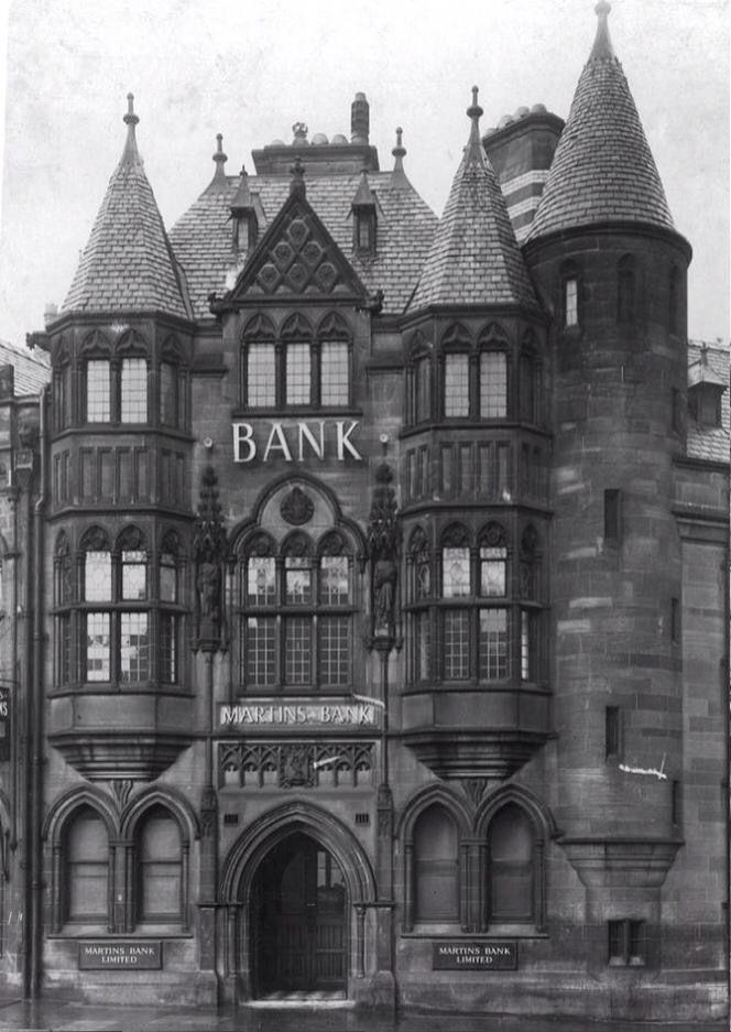 Martins Bank Charing Cross Birkenhead