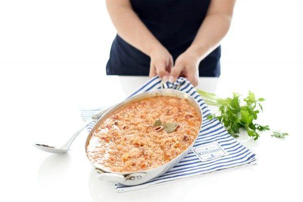Receta de arroz con pulpo con thermomix