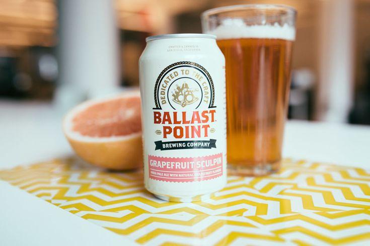 Ballast Point Grapefruit Sculpin IPA - Cool Hunting