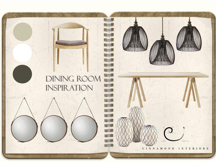 Dining room inspiration#diningroom#cinnamondinteriors  http://www.cinnamond-interiors.co.za/#