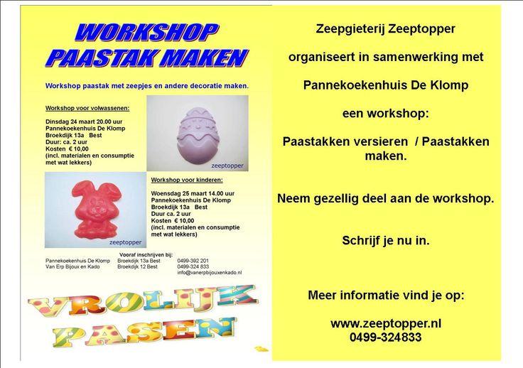 Workshop Paastakken maken