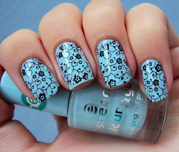 M Back - 40 Examples of Elegant Nail Art  <3 <3