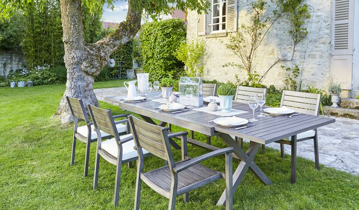 17 best images about ambiances jardin terrasse balcons on pinterest nature bar and tables - Table jardin carrefour roubaix ...