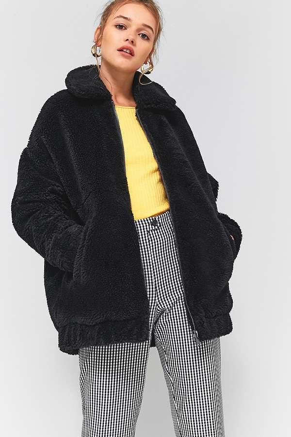 Best 25 Teddy Coat Ideas On Pinterest Fuzzy Coat