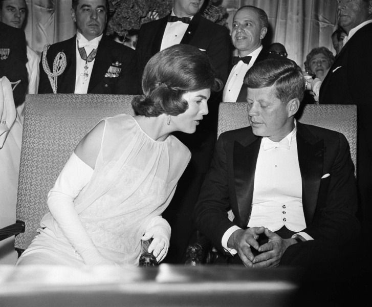 The new President Kennedy & First Lady share a moment during the Inaugural ball     Photos from the inaugural celebrations offers a hint of why the Kennedys  excited a nation. Americans had never encountered a president quite like JFK before — so young, yet seemingly born for the role — and there's no question that the country had never seen a First Lady quite like Jacqueline Kennedy. Beautiful, cultured, and legendarily stylish, Jackie was just 31 years old when Jack became president, but