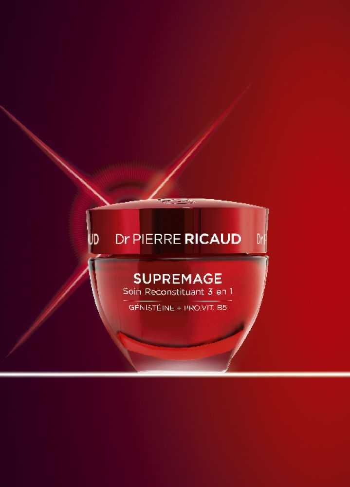 Dr Pierre Ricaud - Supremage soin reconstituant 3en1
