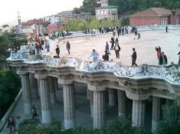 Image result for park guell bench