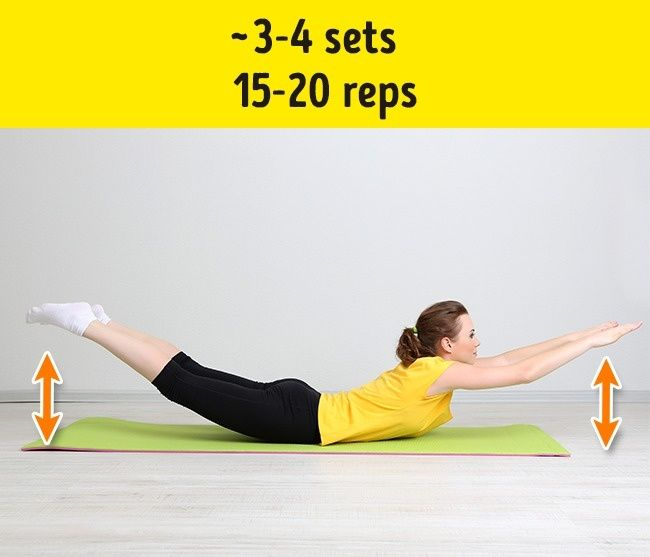 7Effective Exercises toGet Rid ofFolds onYour Back and Sides
