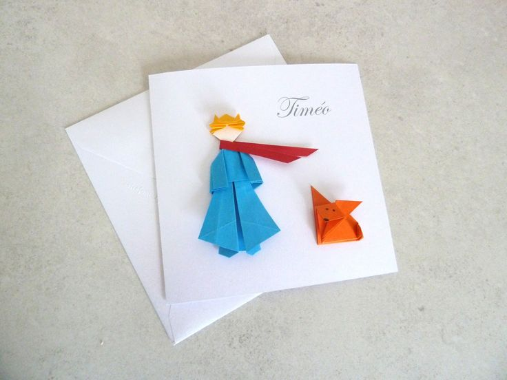 Ísis origamis: Pequeno príncipe em origami