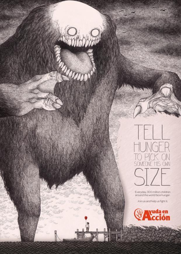 Ayuda en Acción: Tell Hunger