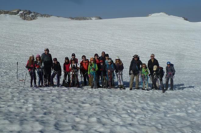 Randonnée en haute montagne pour les enfants organisée par le Club Alpin Chalon Info Chalon l'actualité de Info Chalon
