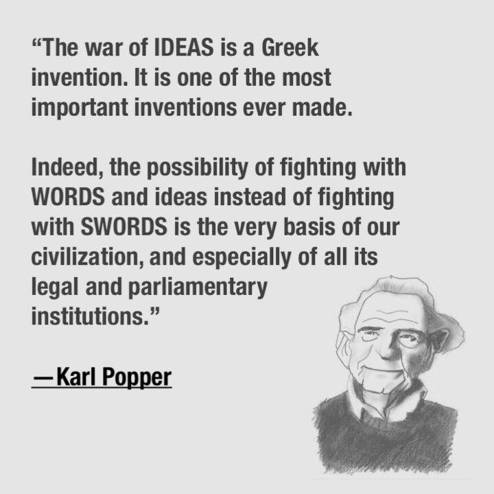 Image result for karl popper paradox of freedom,