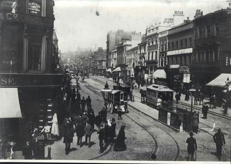 Briggate and Boar Lane 1890