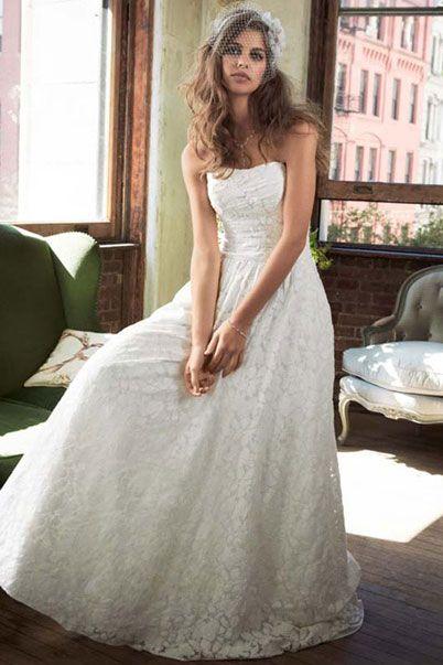 Американские свадебные платья модели годе