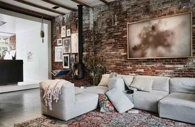Une maison des années 30 pour un artiste