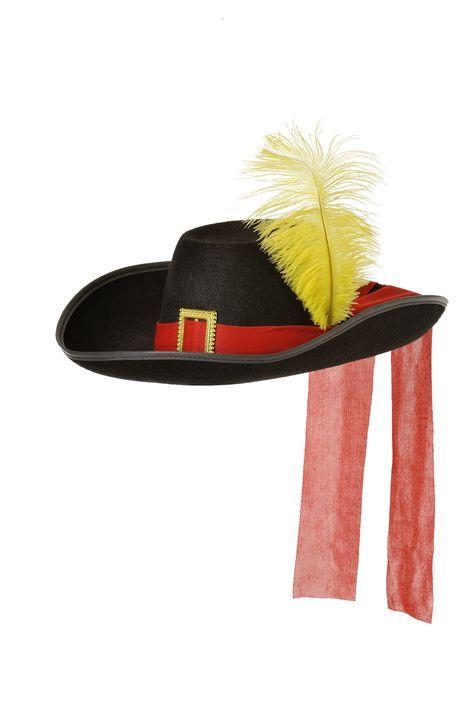 Sombrero de mosquetero de fieltro  586c3e1b315