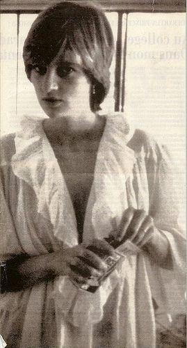 Diana, probably on her honeymoon