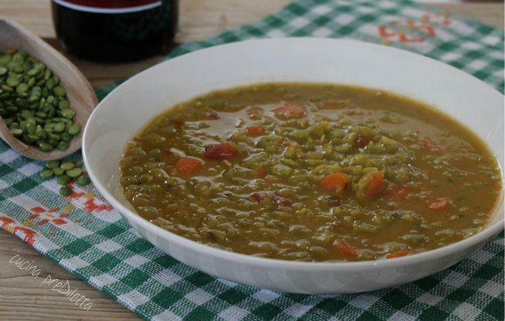 Zuppa di piselli secchi - ricetta di legumi | cucina preDiletta
