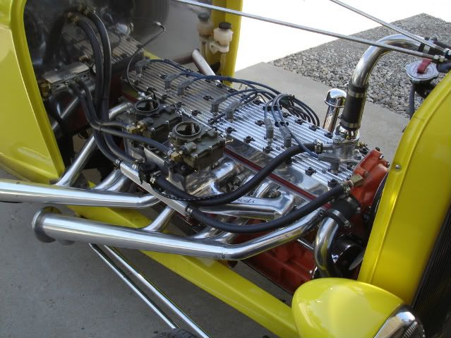 327 Packard Straight 8. Amazing engine! C.A.N. The Art