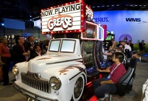 new Grease slot game - look at that car!